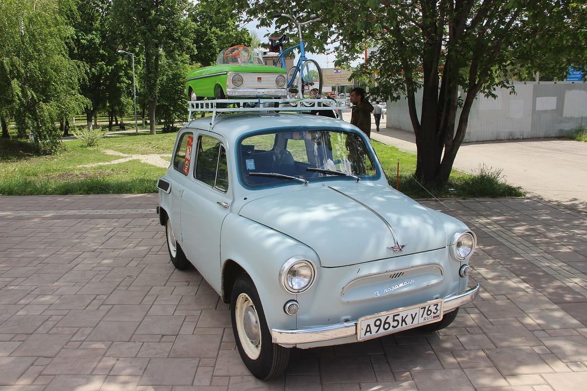 Выставка ретро автомобилей в парке Дружбы. Самара, 2019г.