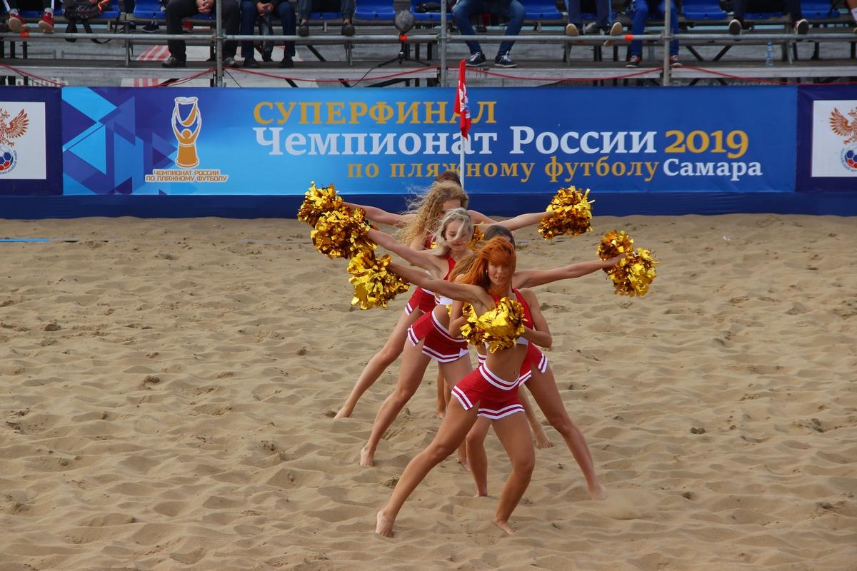 Суперфинал по пляжному футболу. Чемпионат России 2019. Самара.