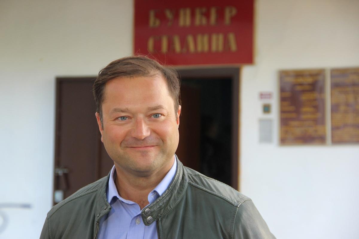 Никита Исаев посетил бункер Сталина в Самаре.