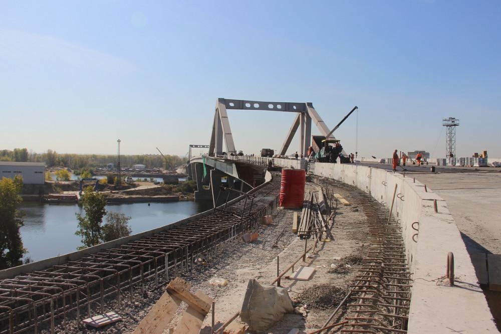 Долгожданный Фрунзенский мост практически готов. Фиксируем результаты. 11.09.2019г.