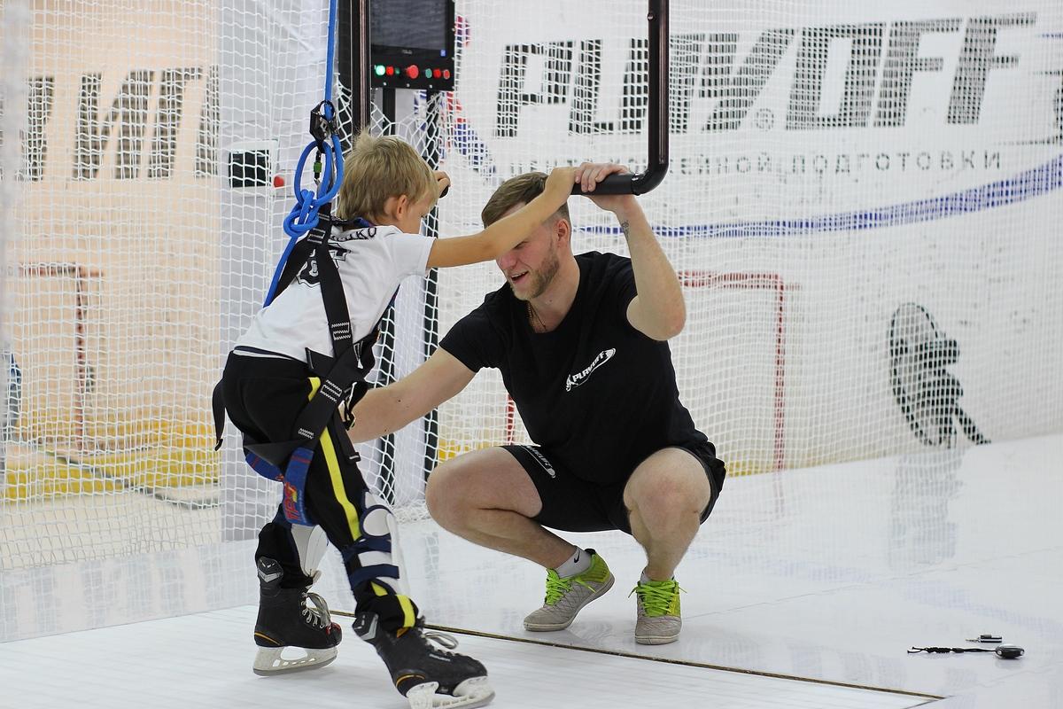 Центр хоккейной подготовки PLAYOFF в Самаре. #ТЫВИГРЕ