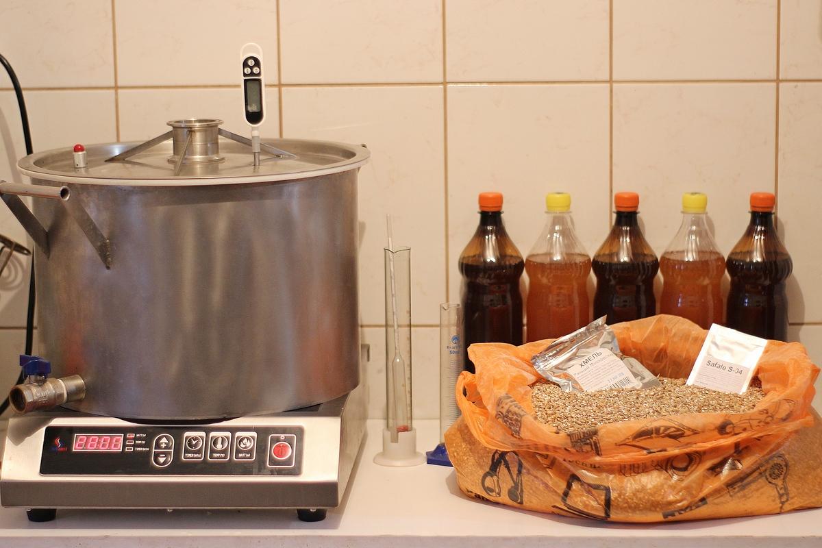 Вынужденная третья варка пива в домашних условиях.