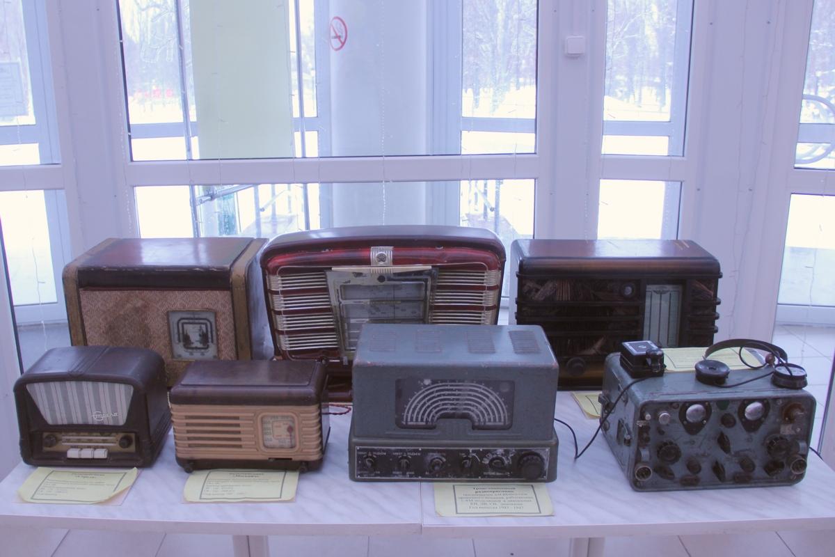 Старинные ламповые радиоприёмники времён СССР. 1