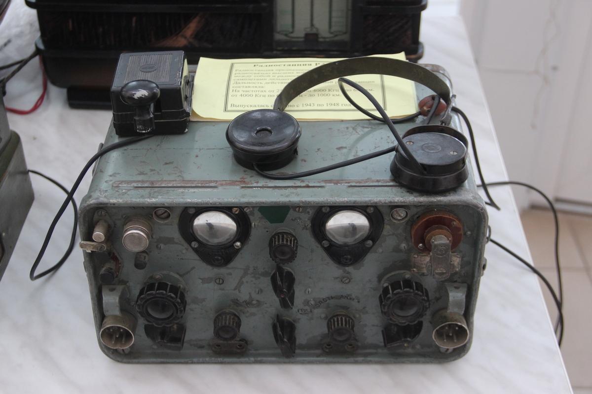 Старинные ламповые радиоприёмники времён СССР. 5
