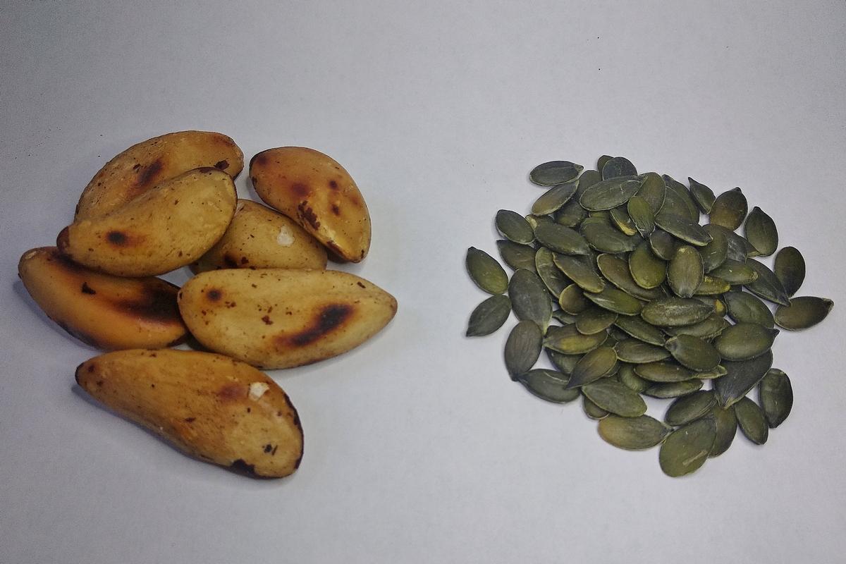 Удачное сочетание семян и орехов для моего урбеча 1