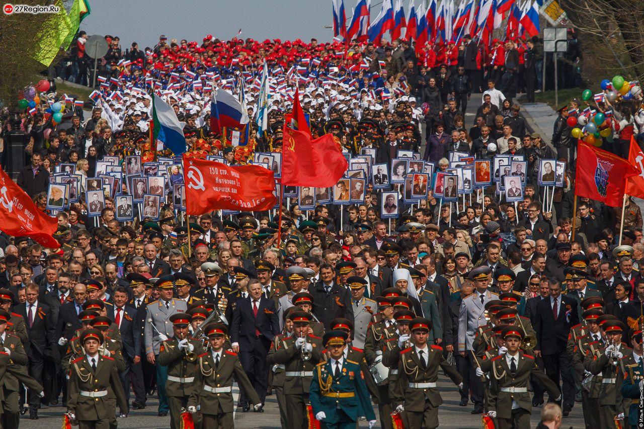 Парад Победы Хабаровск 2013 г