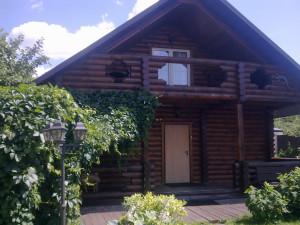 деревянный дом на даче