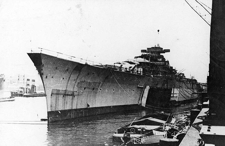 Строительство морского гиганта