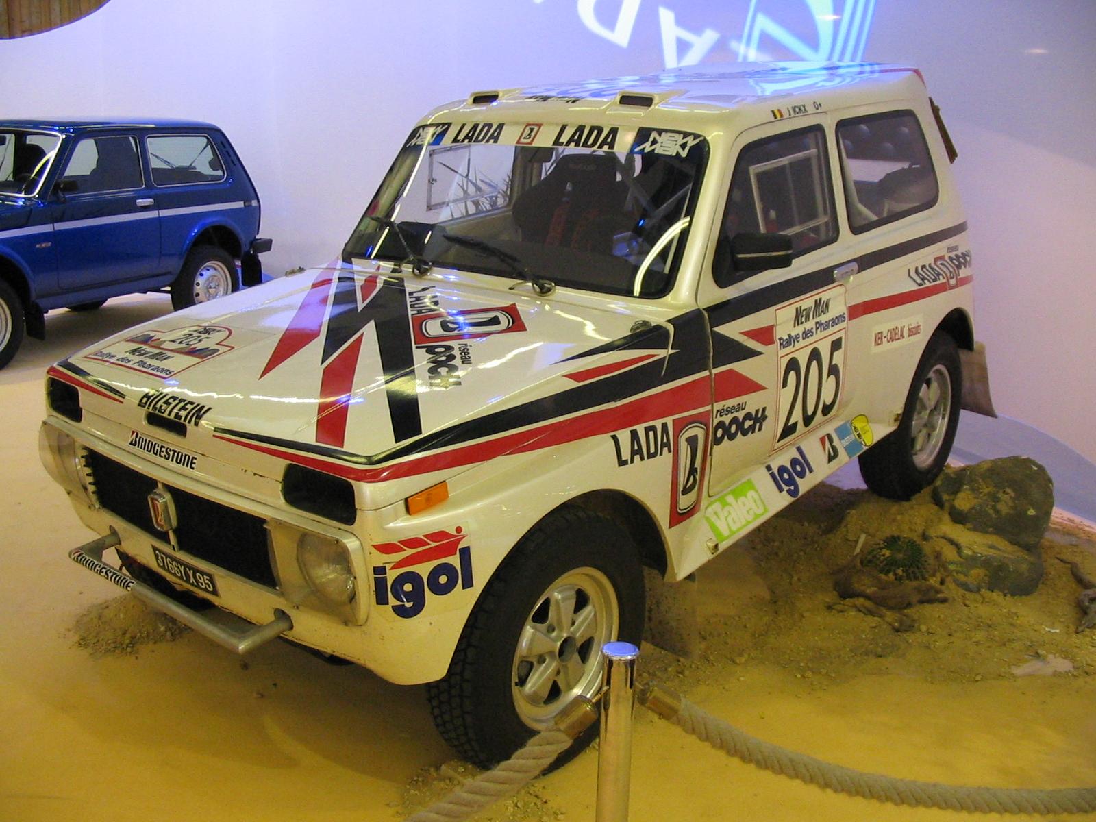 2004 Lada Niva rally_3q_front