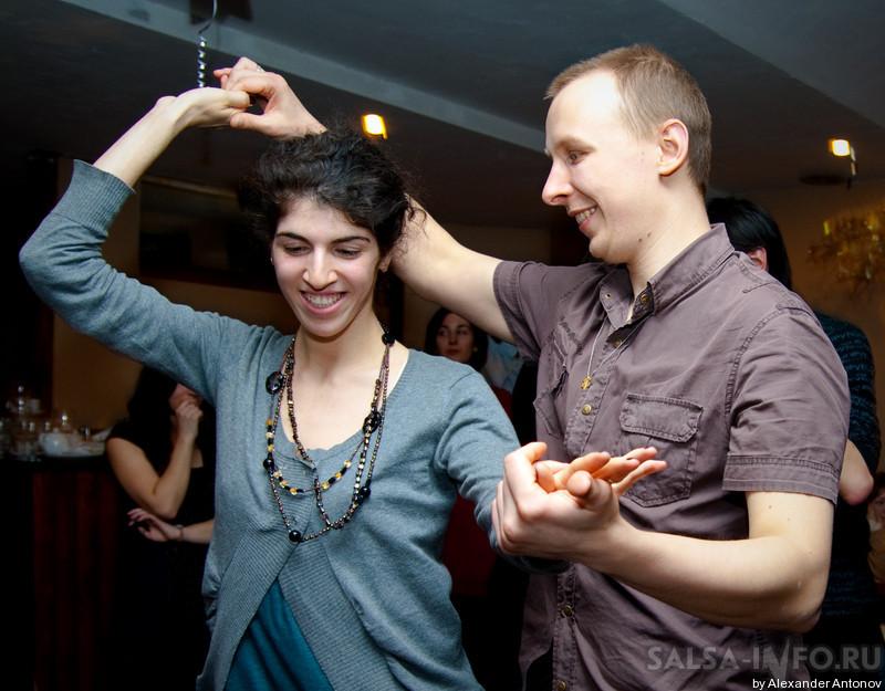 Танец сальса. Сальса в Москве. Уроки сальсы. Обучение сальсе