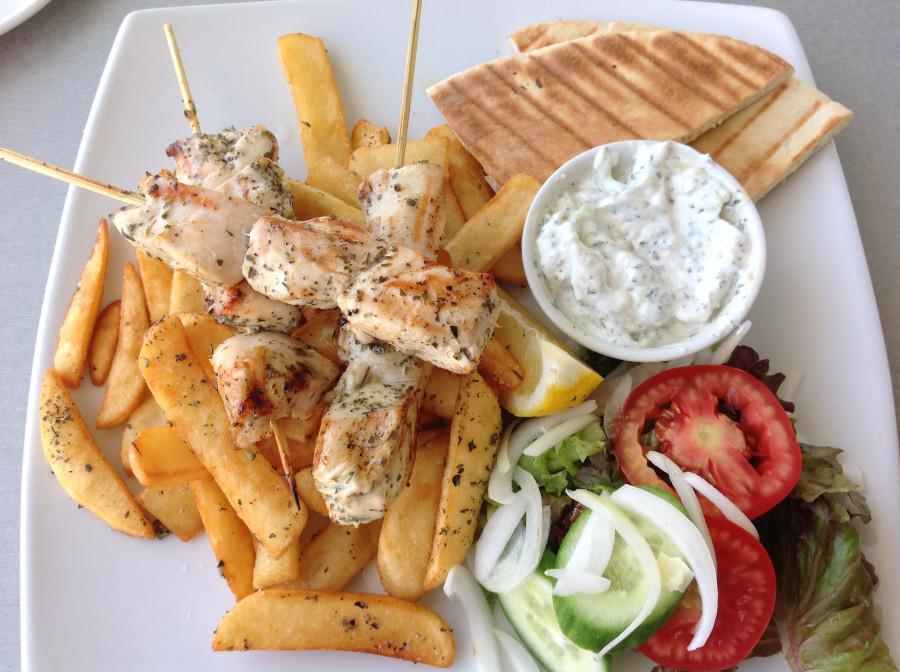 подносы, фото кипрской еды того они