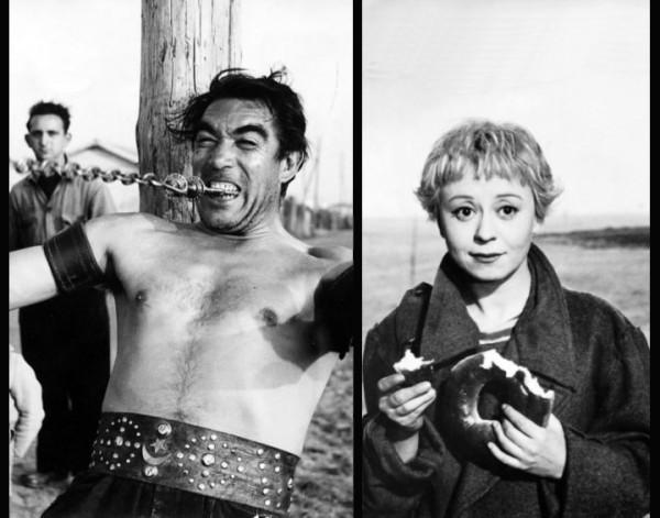 Лицо – маска, жизнь как у скота… — это и есть реальный человек?... / / «Дорога»(Феллини,1954)