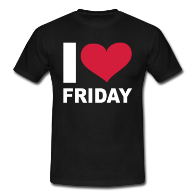 Schwarz-I-LOVE-Friday---eushirt.com-T-Shirts