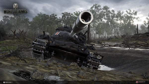 Tons of steel premieres with World of Tanks on Xbox One X