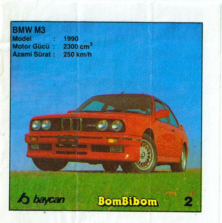 Байкановцы с особым трепетом отнеслись к BMW M3 - в серии из 60 фантиков их целых три штуки!
