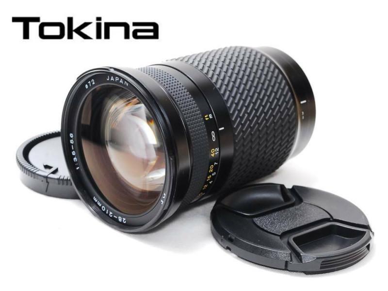 Tokina AF 28-210mm 1:3.5-5.6 - один из наиболее бюджетных автофокусных гиперзумов на рынке. Самый дешевый экземпляр на ebay на момент написания статьи стоил $55,99, включая доставку. Фото собственно того самого японского продавца kouksugiuch-0. Мой экземпляр идентичен этому.