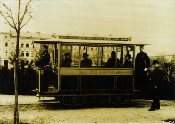 Впервые в России «двинут вагон электрической силой». 3 сентября 1880