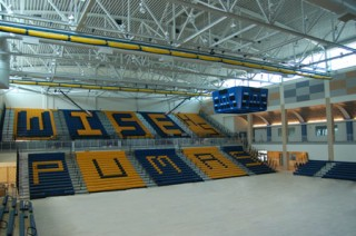 Here the gym for the school! and thats the