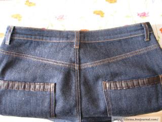 Как ушить джинсовую юбку в поясе