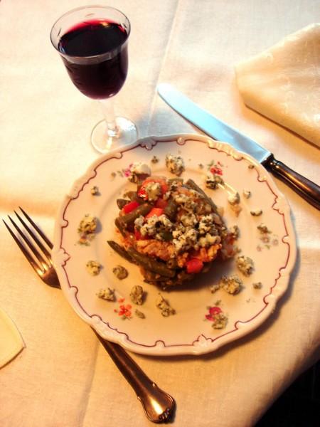 салат спаржевая фасоль