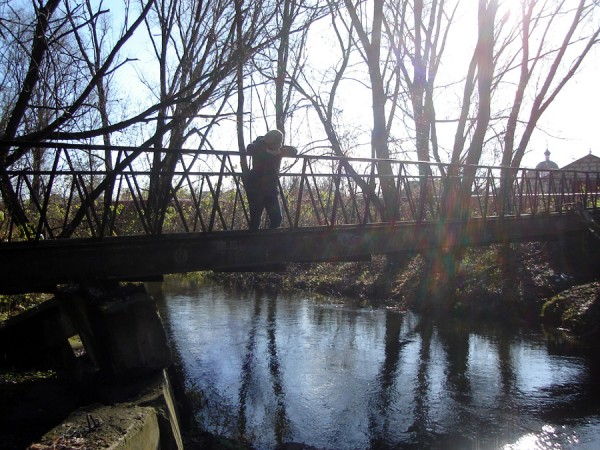 мостик в Ямской и я