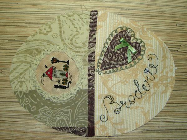 сторона нижняя крышки корзинки для вышивания