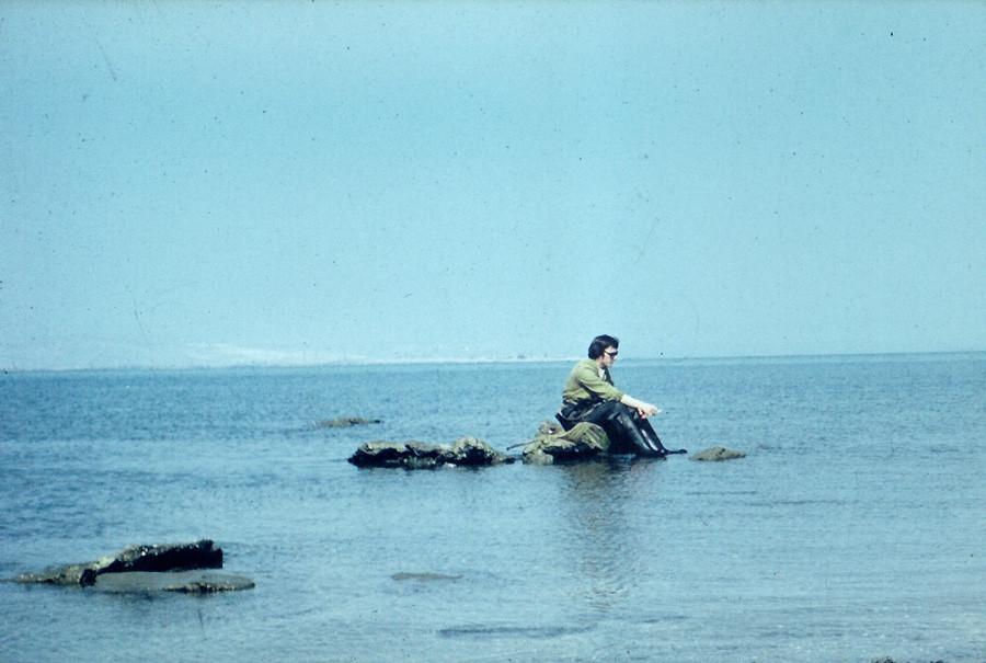 ловля креветок 1978