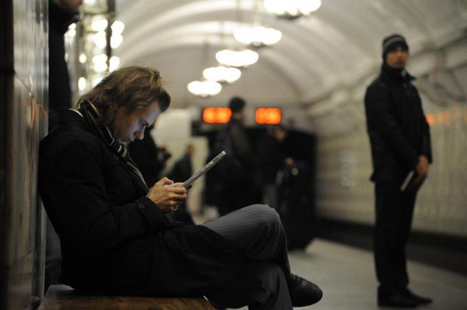 леша в метро