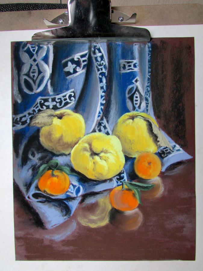 айва и мандарины  628