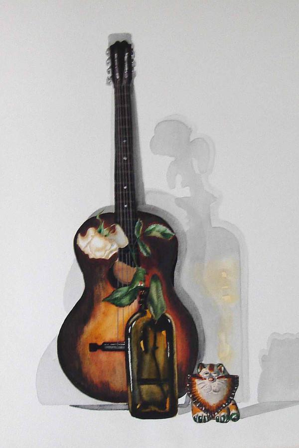 Гитара и глиняная свистулька