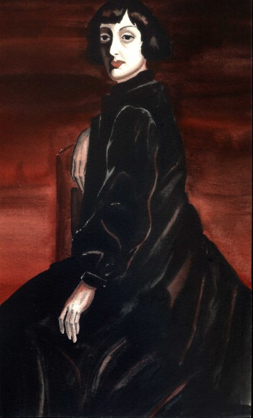 копия К.Тосева портрет Бисеры