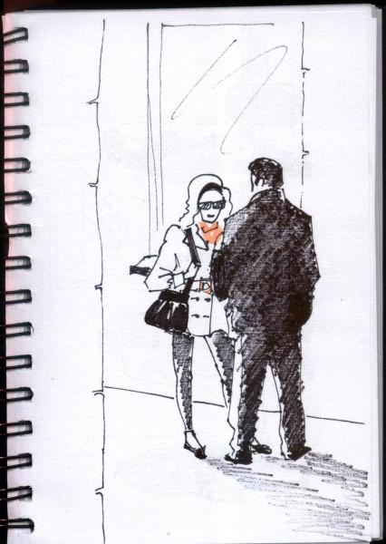 двое на улице
