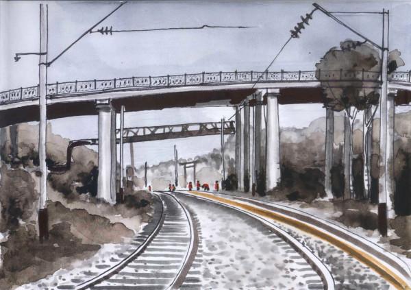 большой мост ремонт