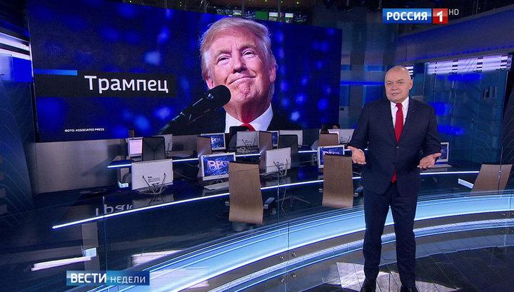 РФ поддерживала Трампа в течение 5 лет.