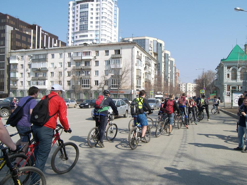 Открытие велосезона-2013 с ВелоСамарой.