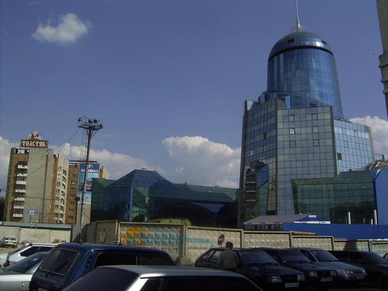 Самара. Комсомольская площадь в 2003 г.