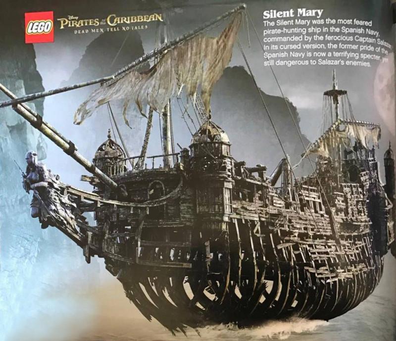 Как сделать корабль мертвецов из лего