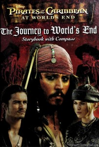 Disney Pirates of the Caribbean At Worlds End.The Journey to World's End: Storybook with Compass