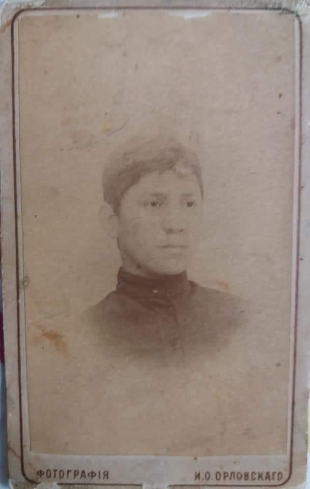 Мой прадед Кочиев (Хъоцыты) Бидзина Падоевич. 25 ноября 1895 года. В это время он учился в Ардонской миссионерской духовной семинарии.