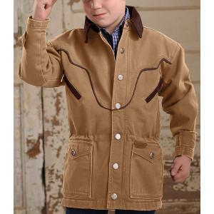 куртка коричн джинс флис Н