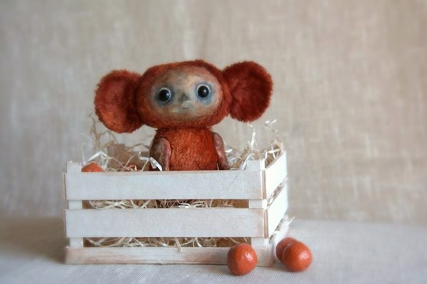 cheburashka and oranges