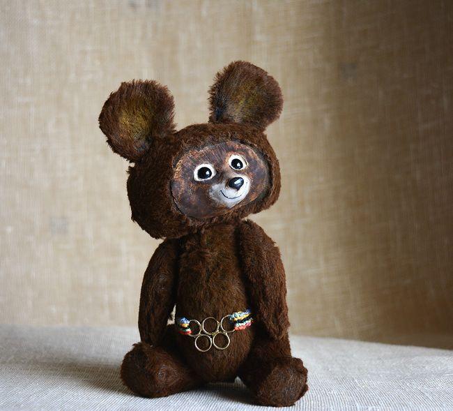 Olympic bear Krivenko Svetlana