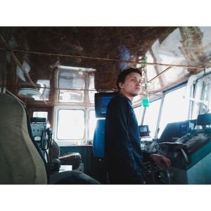 Контейнеровоз Красновидово 1984 год Я и Олег Зайкин.jpg