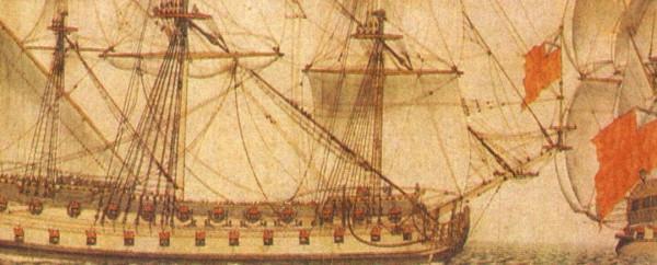 Гальюн на деревянных кораблях парусного флота