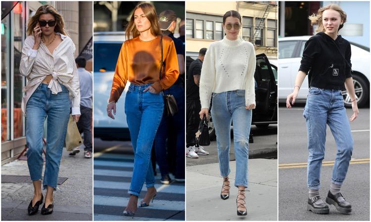 джинсы с отвисшим задом