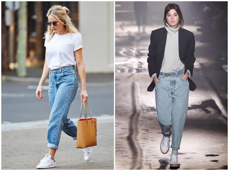 С чем носят американские джинсы
