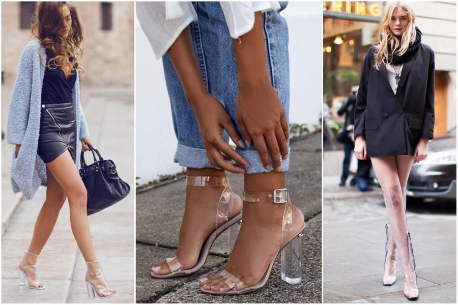 5551a70e0 Есть основания считать, что массовым фетишем прозрачный пластик на ногах  сделала простигосподи Ким Кардашан, которая своим примером взялась пиарить  обувь из ...