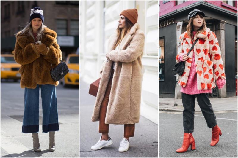 Как носить шубы из меха чебурашки: 7 стильных образов, которые легко повторить рекомендации