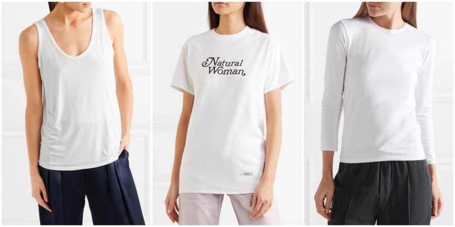 SOS-вещь. Почему простая белая футболка никогда не будет лишней в шкафу?