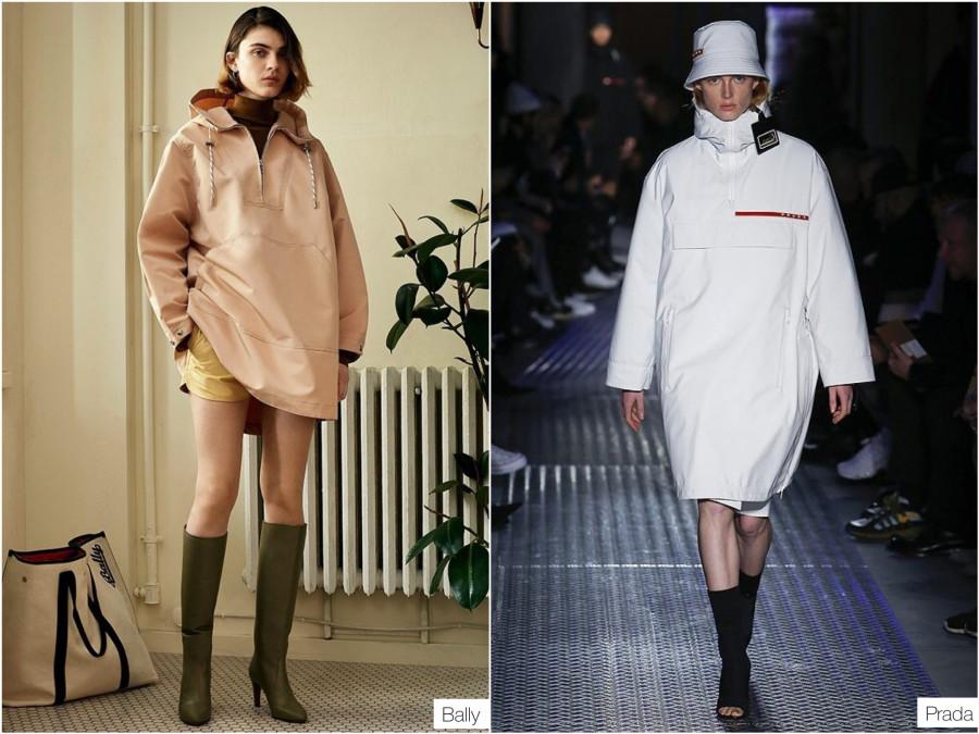 cf8ca1d54545 Кстати, в модном мире тренд на анораки очень явно начался весной. Но тогда  они были из плащевки и носить их предлагали преимущественно как кэжуальные  платья ...